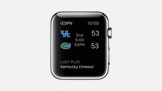 Apple Watch ESPN