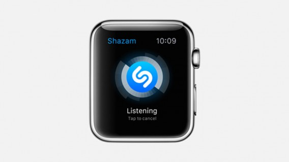 Apple Watch Shazam