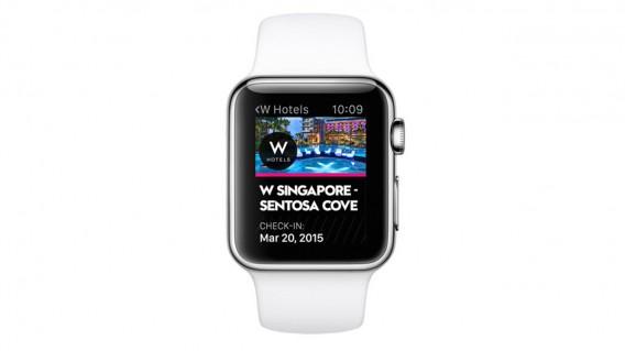 Apple Watch W Hotel