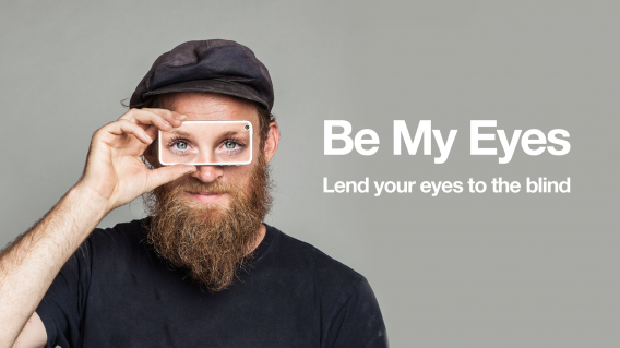 Be My Eyes video chat for the blind app