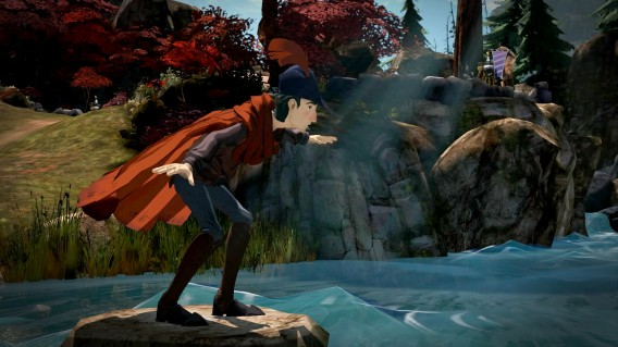 King's Quest balancing act