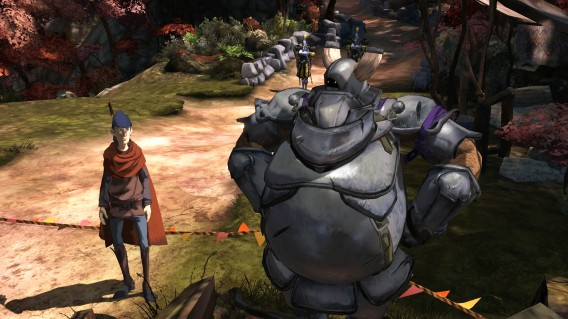 King's Quest Graham and knight