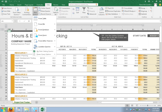 Power Query is now integrated in Excel