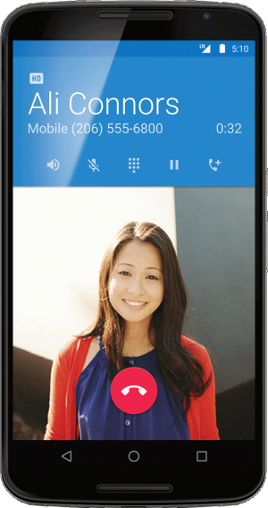 hd voice android 5.1