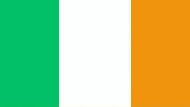 Plain Irish Flag