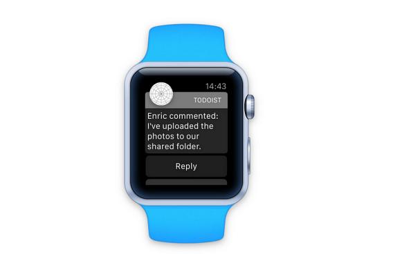 Apple Watch Todoist