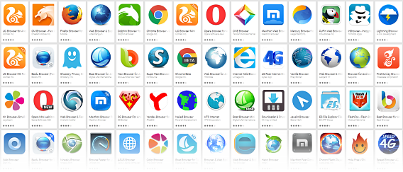 Best Android browser comparison 2015