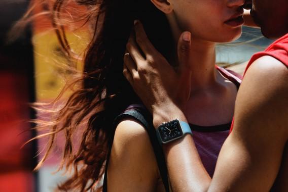 Apple Watch couple