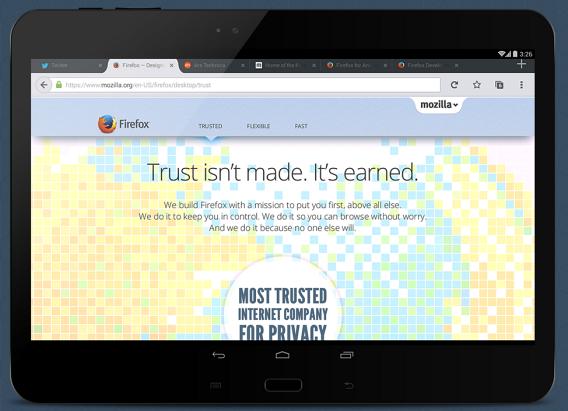 Firefox winner