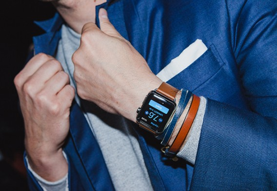 GQ  Apple Watch photo shoot