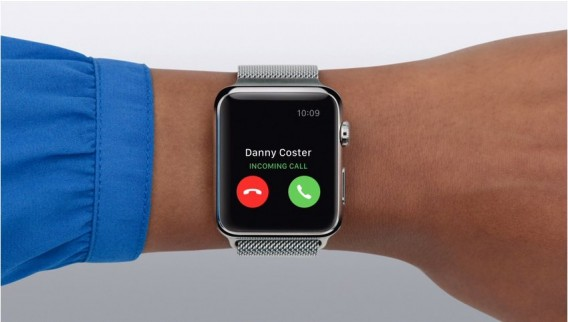 Apple Watch phone call