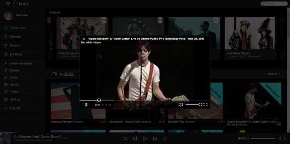 White Stripes exclusive video