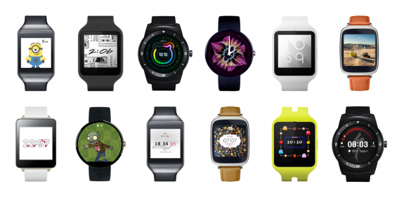 android wear faces