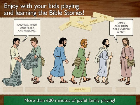 childrens bible games