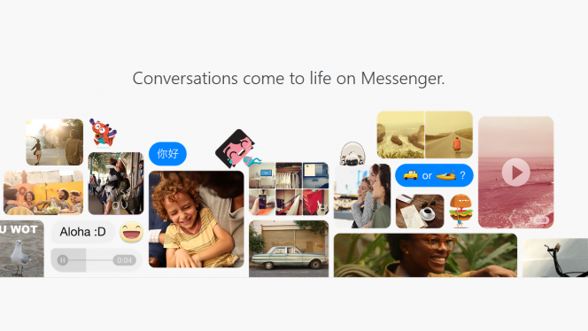 Facebook Messenger gets its own web client