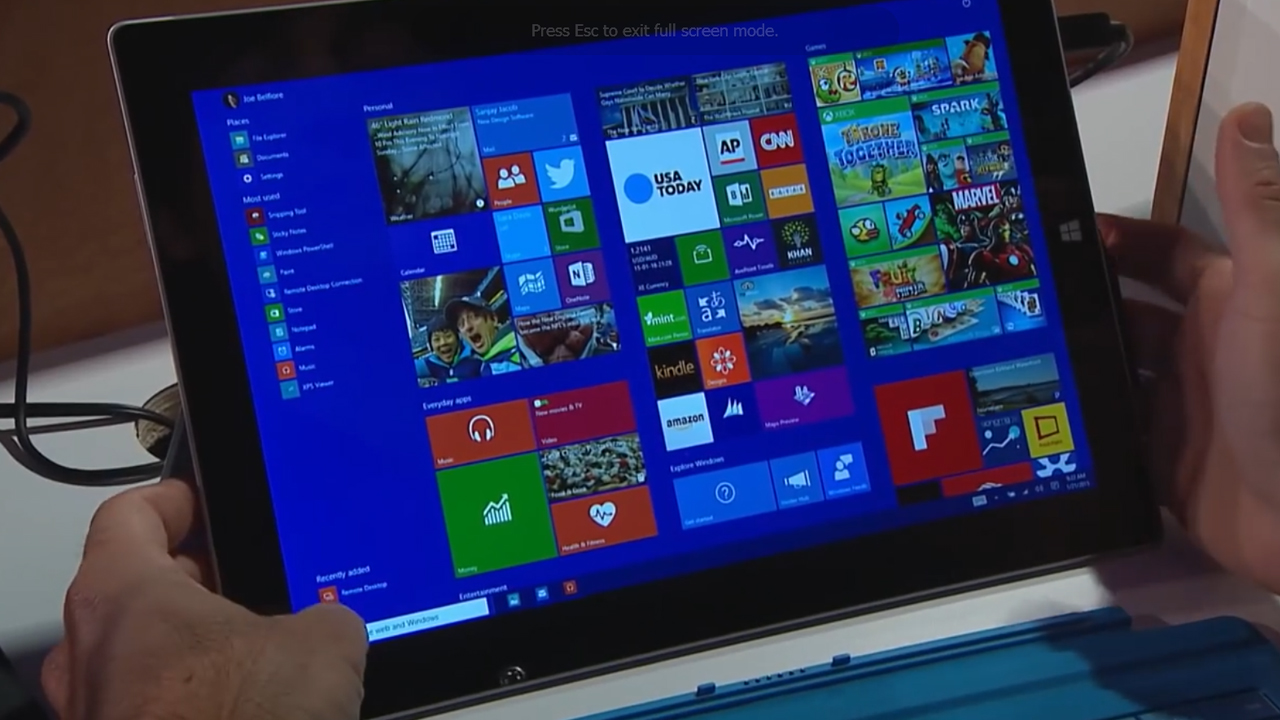 What to expect in Windows 10