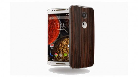 Moto X wood grain