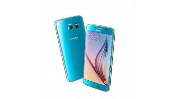 Samsung Galaxy S6 blue
