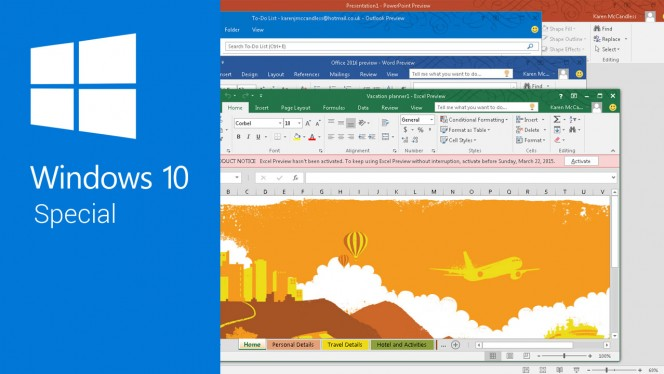 What's new in Office 2016 for Windows