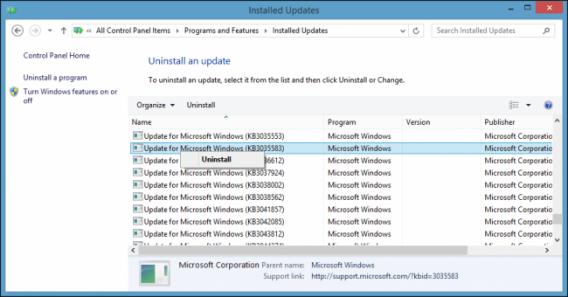 Get rid of Windows 10 icon uninstall