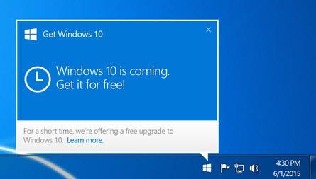 Get rid of Windows 10 icon