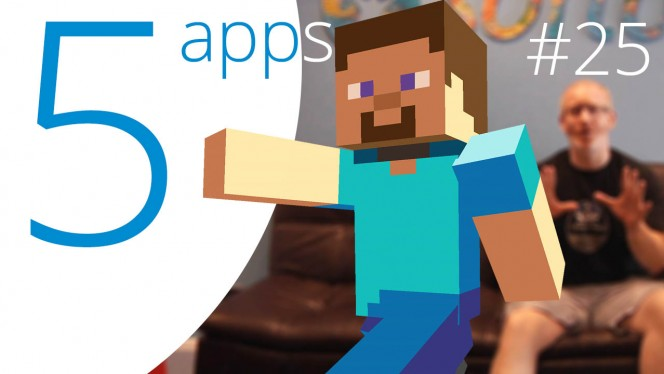 Five App with Minecraft for Windows 10