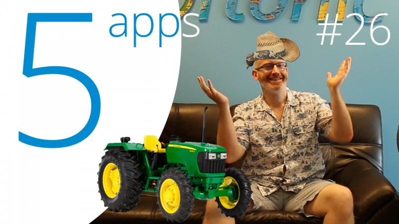 Score! Hero, Manowar, Square Quick, Bestie, and Farming Simulator 16 are our Five Apps to Try