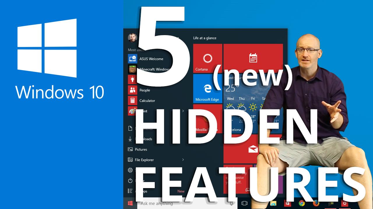 Five hidden Windows 10 tools