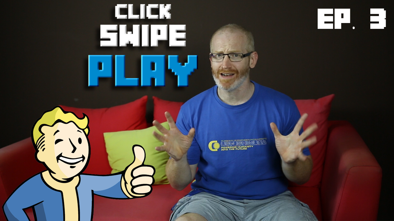 Fallout 4, Soma, and other exciting game previews: let's Click-Swipe-Play