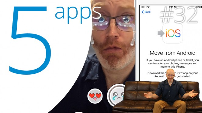 EN Office 2016, FIFA 16, Basil, Snapchat, Move to iOS