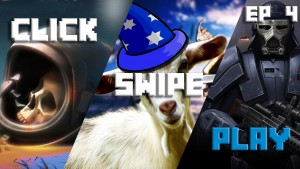 Goat Simulator MMO Simulator, Star Wars Uprising, and Corpse of Discovery: let's Click-Swipe-Play
