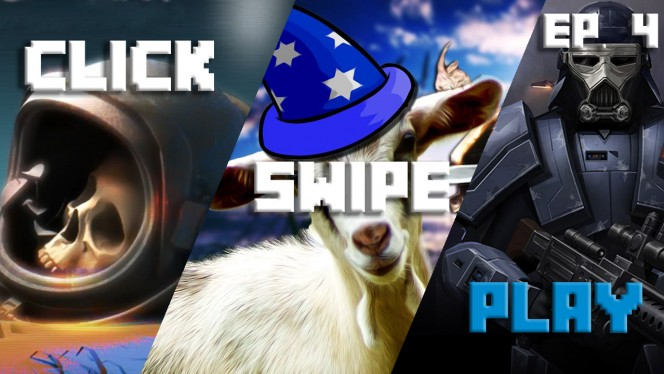 Click-Swipe-Play: Corpse of Discovery, Goat Simulator MMO and Star Wars Uprising