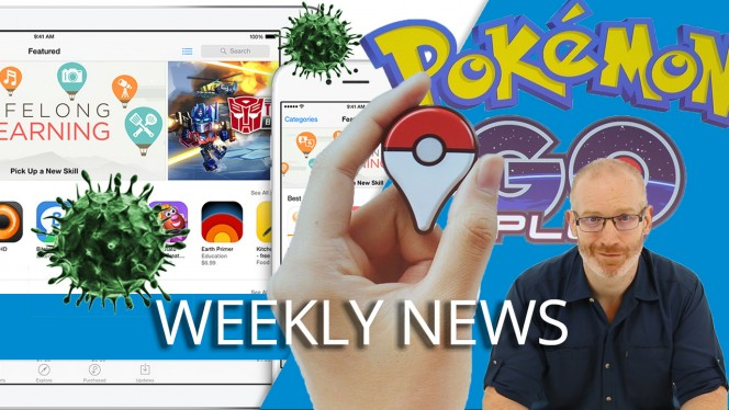 GOOGLE IOS 9 APP STORE VIRUS POKEMON GO