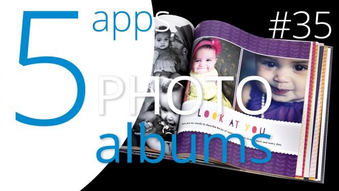 The five best photo album apps