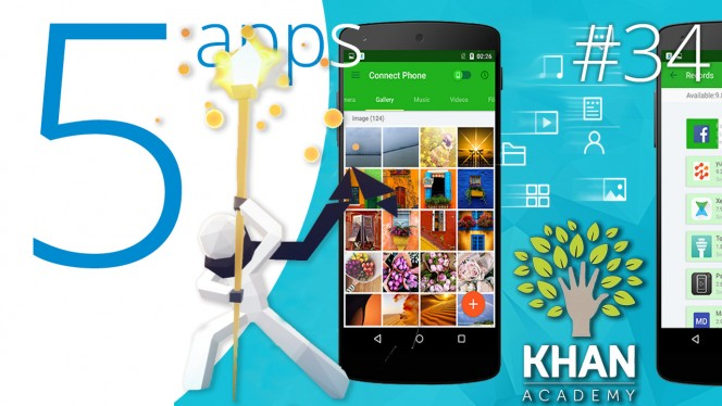 Khan Academy, Adobe Photoshop Fix, and more recommended apps