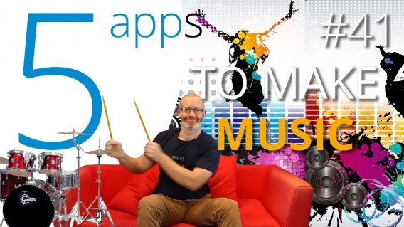5 apps to make music