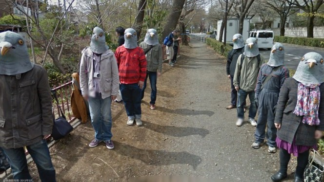 The funniest and weirdest moments caught on Google Street View
