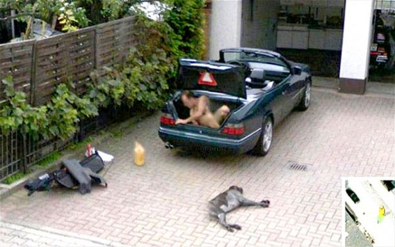 Google Street View: Photo of Naked Woman Latest in Long
