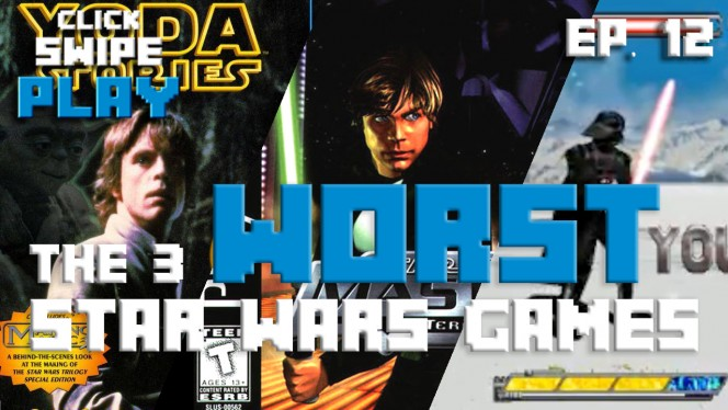The Worst Star Wars games, like ever