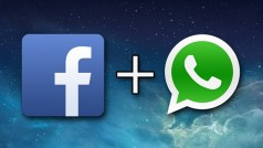 The first sign of Facebook and WhatsApp integration