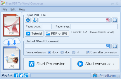 How to convert PDFs into Word with Free Word to PDF Converter