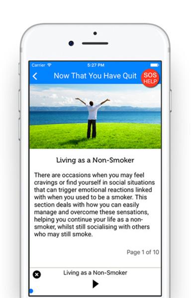 Quit Smoking Now Screenshot