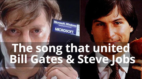The song that united Bill Gates & Steve Jobs