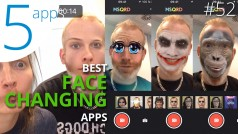 Five fantastic face changing apps