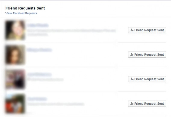 find friend request not accepted