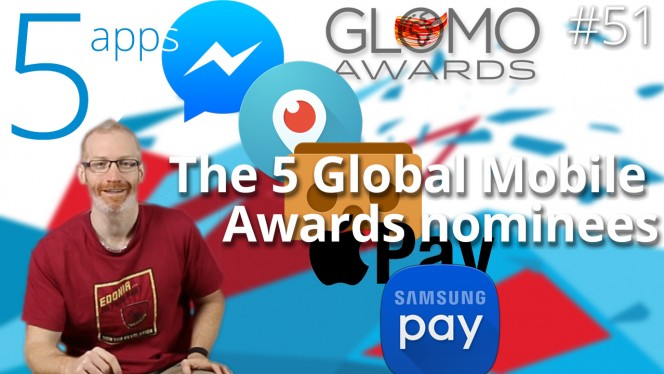 text GLOMO Awards 2016