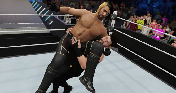 WWE 2K16 - Seth Rollins and Kevin Owens