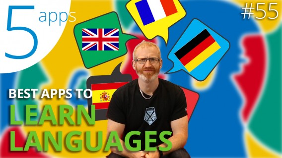 The 5 BEST APPS to LEARN LANGUAGES