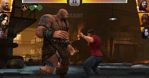 WWE Immortals - Big Show vs Danial Bryant