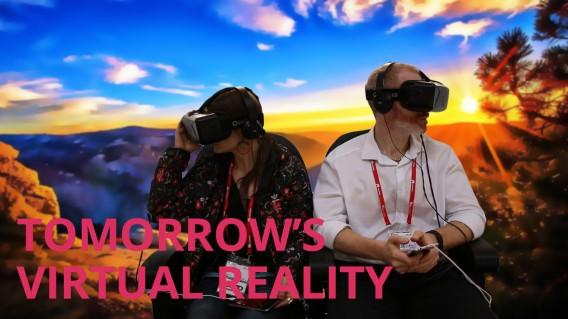 TOMORROW'S VIRTUAL REALITY